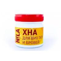 Хна для бровей и биотату Nila красная, 100 г