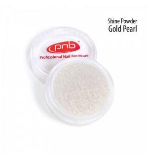Втирка-блеск PNB Powder Shine Gold Pearl «Золотой жемчуг», 1 г