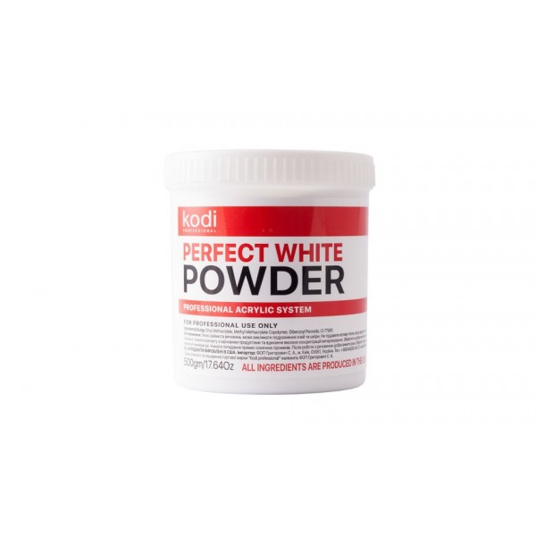 Perfect White Powder (Базовый акрил белый) 500 гр