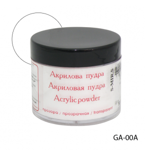 Акриловая пудра GA-00A для наращивания ногтей
