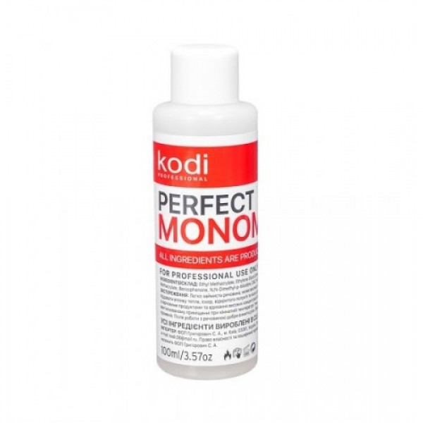 Мономер Kodi Professional Monomer Clear (прозрачный), 100 мл