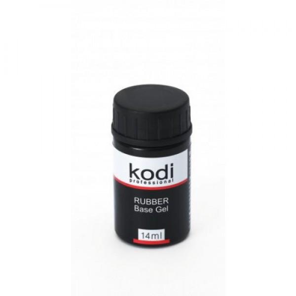 База каучуковая для гель-лака Kodi Rubber Base, 14 мл
