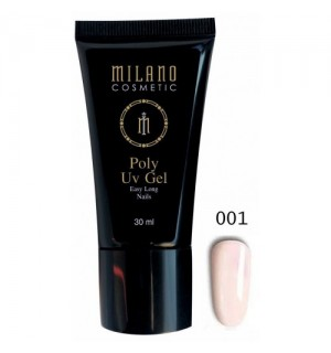 Полигель Milano Poly Gel № 001, 30 мл