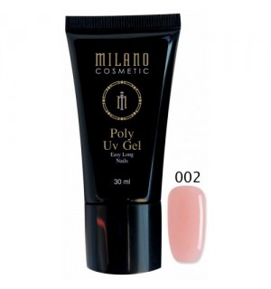 Полигель Milano Poly Gel № 002, 30 мл
