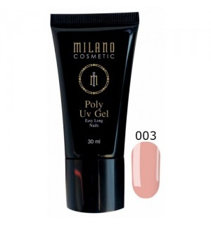 Полигель Milano Poly Gel № 003, 30 мл