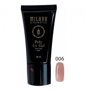 Полигель Milano Poly Gel № 006, 30 мл