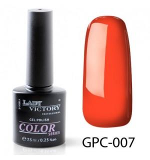 ГЕЛЬ-ЛАК LADY VICTORY GPC-007, 7.3 МЛ