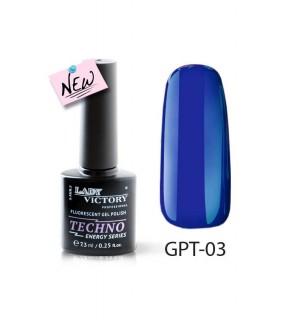 Флуоресцентный гель-лак GPT-03