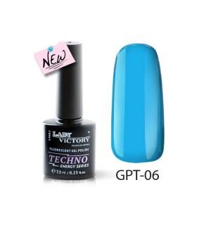 Флуоресцентный гель-лак GPT-06