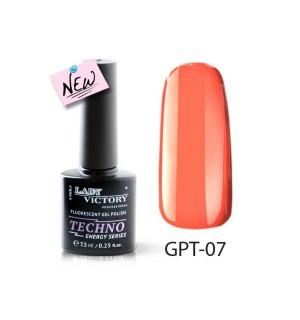 Флуоресцентный гель-лак GPT-07