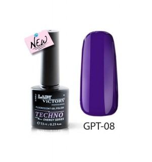 Флуоресцентный гель-лак GPT-08