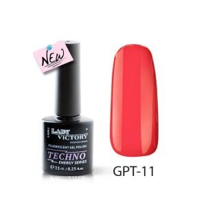 Флуоресцентный гель-лак GPT-11