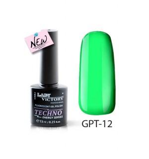 Флуоресцентный гель-лак GPT-12