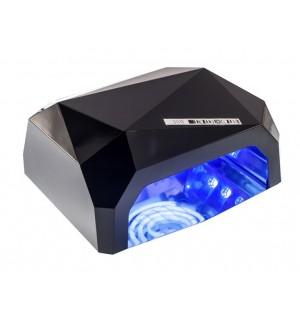 Лампа для гель лака LED+CCFL Lamp Diamond 36W черная