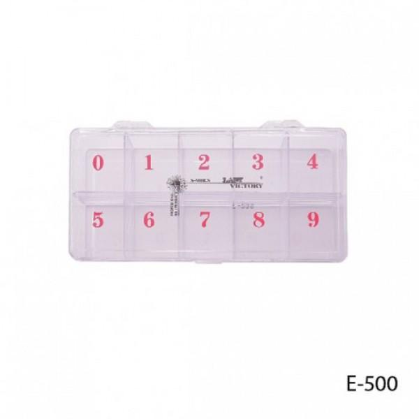 Тара E-500 пластмассовая для ногтей