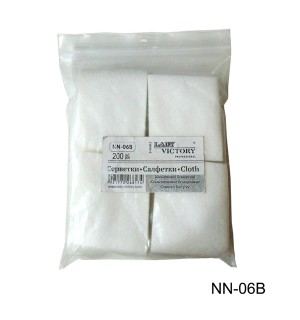 Безворсовые салфетки NN-06B, 200 шт