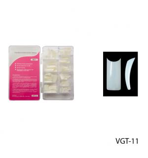Ногти VGT-11 (по 300 шт) матовые, слегка зауженные