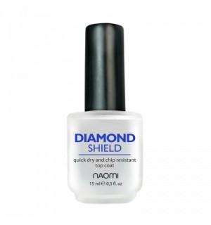 Закрепитель быстросохнущий Naomi Diamond Shield, 15 мл