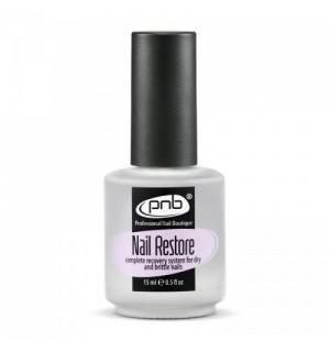 Средство для восстановления ногтевой пластины PNB Nail Restore, 15 мл