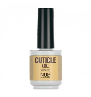 Масло для ногтей и кутикулы NUB Cuticle Oil White Tea, 15 мл