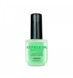 Масло для ногтей и кутикулы Naomi AVOCADO Cuticle Oil, 15 мл